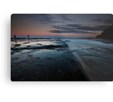 Dusk at Sydney Northern Beaches Metal Print