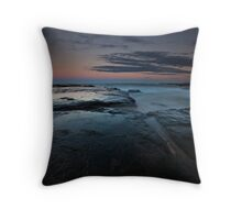 Dusk at Sydney Northern Beaches Throw Pillow