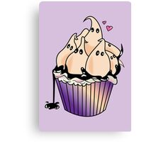 Ghost Cupcake Canvas Print