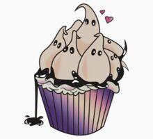 Ghost Cupcake Kids Tee