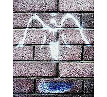 Urban Angel - Grey  Photographic Print