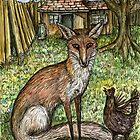 The Fox and the Angry Chicken by Elle J Wilson