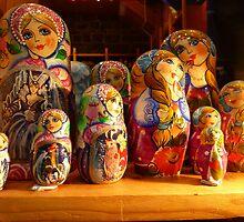 Babushka dolls by machka