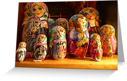 Babushka dolls by machka