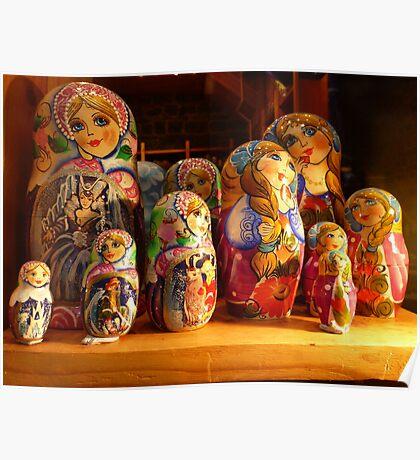 Babushka dolls Poster