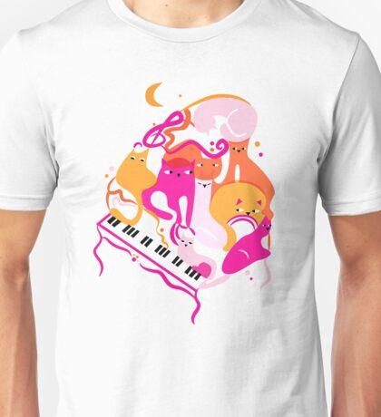 Jazz Cats Unisex T-Shirt