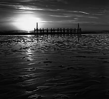Without Pier 02, St Annes on Sea, Lancashire, UK by ExclusivelyMono