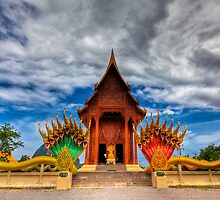 Buddha Temple by Adrian Evans
