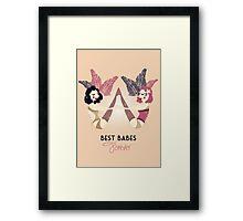 Best Burlesque Babes Forever Framed Print