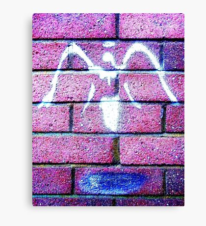 Urban Angel - Pink Canvas Print