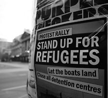 stand up. melbourne, australia by tim buckley | bodhiimages