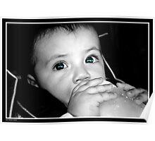 Babies Eyes Poster