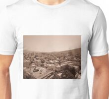 Athens skyline in sepia Unisex T-Shirt