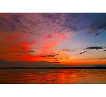 Fire In The Sky ©  Photographic Print