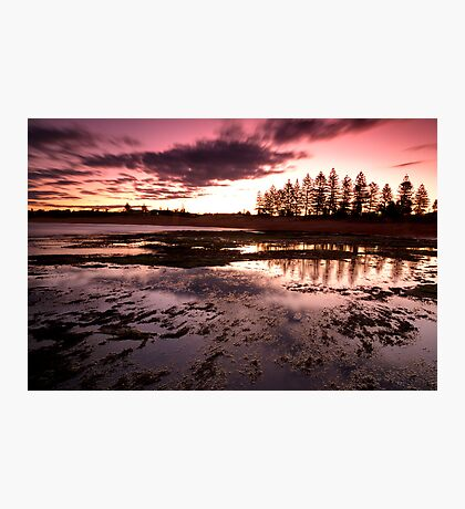 Last Light - Mona Vale Photographic Print