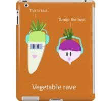 Vegetable rave iPad Case/Skin