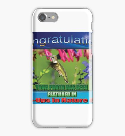 Close-Ups in Nature Group Feature Banner iPhone Case/Skin