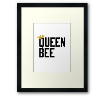QUEEN. Framed Print