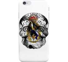 real madrid skull iPhone Case/Skin