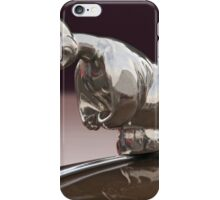 Angry Duck Hood Ornament iPhone Case/Skin