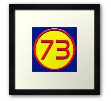 Super 73 Framed Print