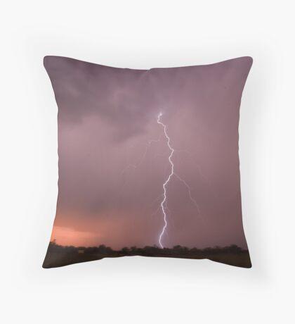 Twin sister lightning Throw Pillow