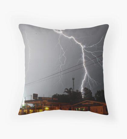 Morning glory - Noonamah Darwin Throw Pillow