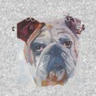 Yale The American Bulldog by ArtToWear