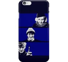 The Old Man, The Clown and The Dandy iPhone Case/Skin