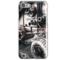 Vintage Thrashing  iPhone Case/Skin