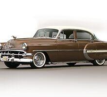 1954 Chevrolet Bel Air Sedan by DaveKoontz