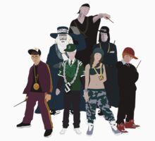 Thugwarts - The Crew (Harry Potter) by lukeshirt