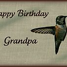 Grandpa Birthday card by Angie O'Connor