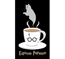 Espresso Patronum - Cat Photographic Print