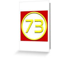 Flash 73 Greeting Card