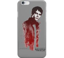 thomas the maze just the begining the scorch trials iPhone Case/Skin