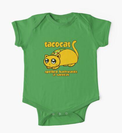 Funny - Tacocat Spelled Backwards (vintage look) One Piece - Short Sleeve