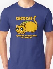 Funny - Tacocat Spelled Backwards (vintage look) Unisex T-Shirt