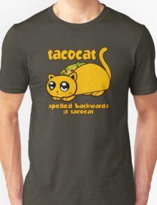 Funny - Tacocat Spelled Backwards (vintage look) T-Shirt
