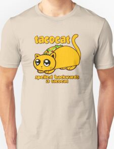 Funny - Tacocat Spelled Backwards (vintage look) Unisex T-Shirt