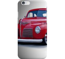 1940 Plymouth Coupe iPhone Case/Skin