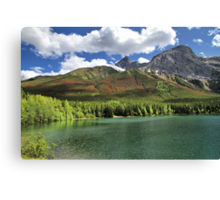 Wedge Pond -  Bow Valley Provincial Park Canvas Print