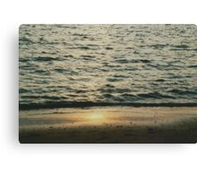 Reflecting Sunset Canvas Print
