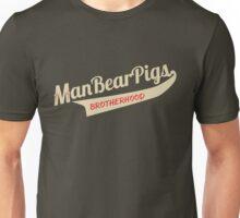 Man Bear Pigs Script Unisex T-Shirt