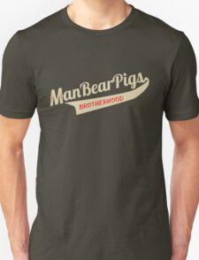 Man Bear Pigs Script T-Shirt