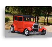 1929 Ford Model A Sedan Canvas Print