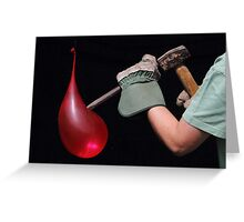 Balloon v Chisel Greeting Card