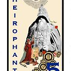 Dada Tarot- The Heirophant by Peter Simpson