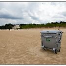 Beach Bin, Vecaķi, Rīga, Latvia. (2010) by Madeleine Marx-Bentley