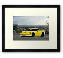 2008 Corvette Z06 'High Road' Framed Print